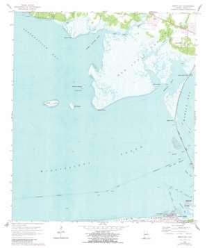 Heron Bay topo map