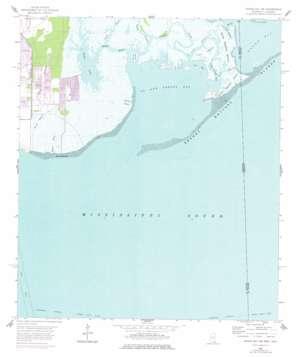 Grand Bay Sw topo map