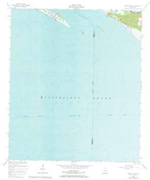Deer Island topo map