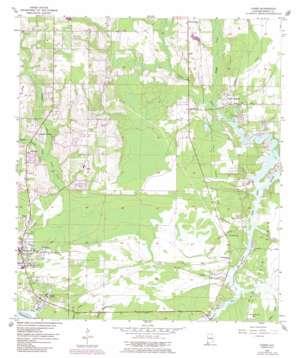 Coden topo map