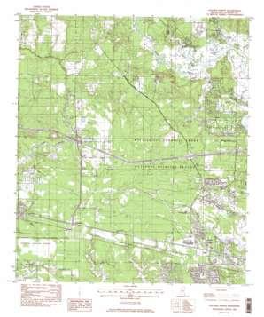 Gautier North topo map