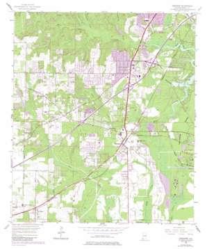 Theodore topo map