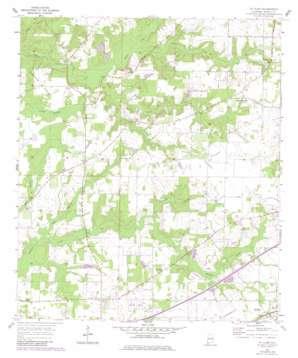 Saint Elmo topo map