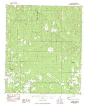 Latimer topo map