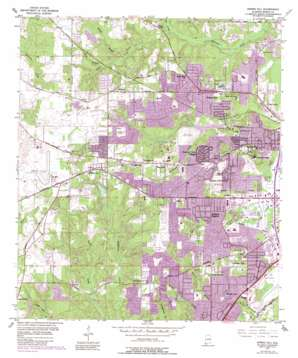 Spring Hill topo map