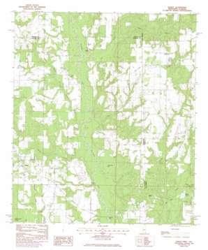 Hurley topo map