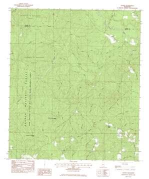 Vestry topo map