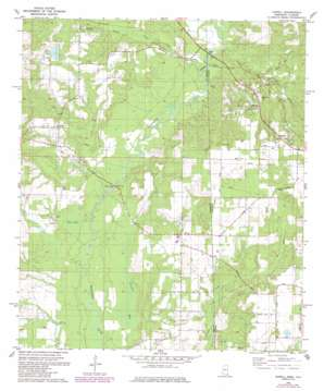 Howell topo map