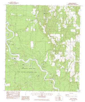 Basin topo map