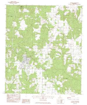 Lucedale topo map