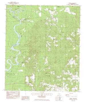 Merrill topo map