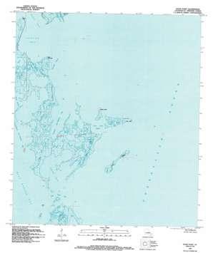 Door Point topo map