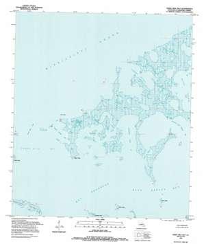 Three Mile Bay topo map