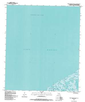 False Mouth Bayou topo map