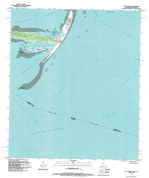 Cat Island topo map