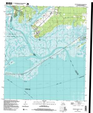 English Lookout topo map