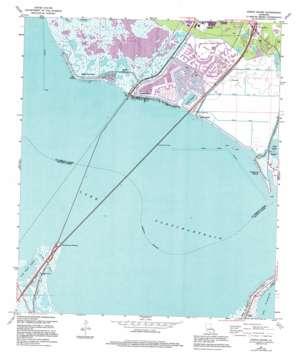 North Shore topo map