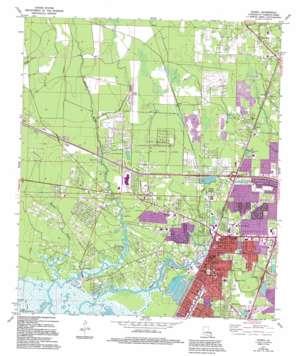 Slidell topo map