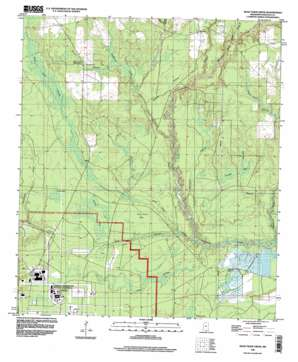Dead Tiger Creek topo map