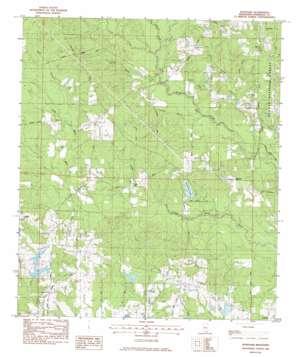 Wortham topo map