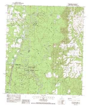 Henleyfield topo map