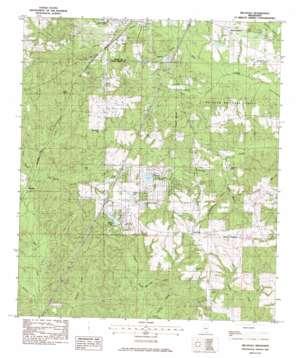Hillsdale topo map