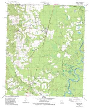 Angie topo map