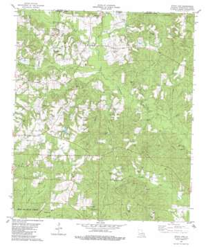State Line topo map