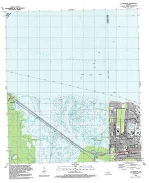 La Branche topo map