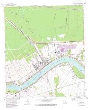 Lutcher topo map