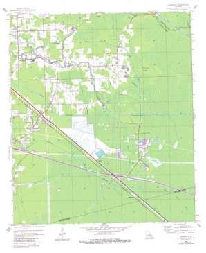 Sorrento topo map
