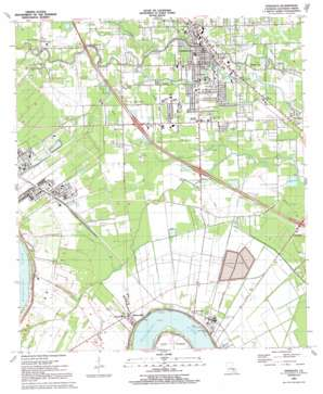 Gonzales topo map