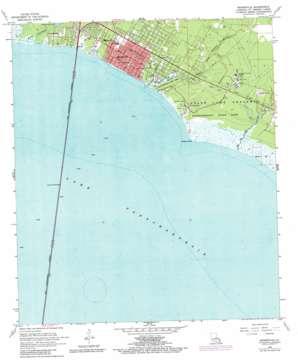 Mandeville topo map