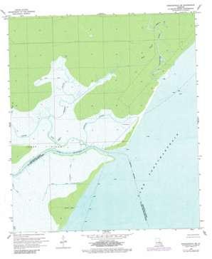 Ponchatoula Se topo map