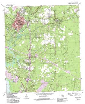 Covington topo map