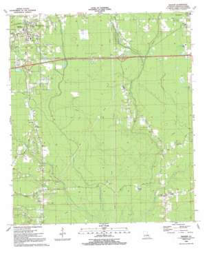 Walker topo map