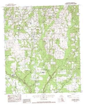 Waldheim topo map