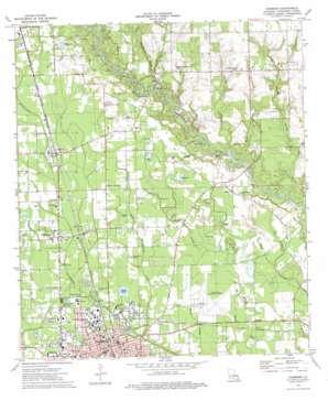 Hammond topo map