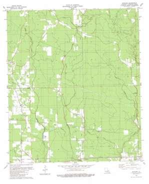 Satsuma topo map