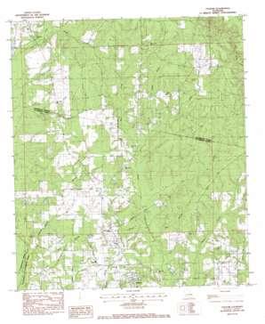 Folsom topo map