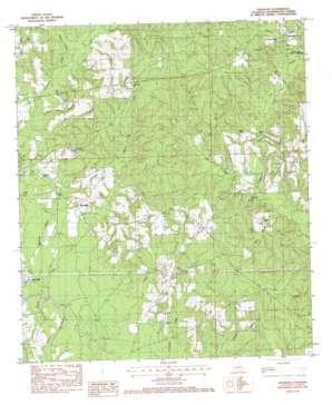 Sheridan topo map