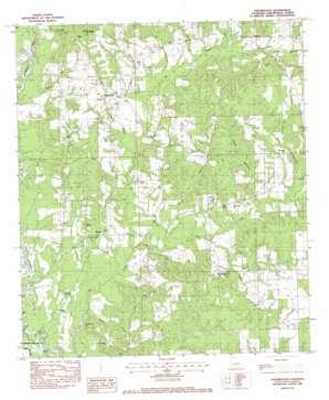 Bolivar topo map