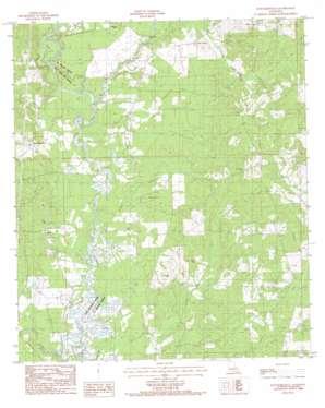 Hatchersville topo map