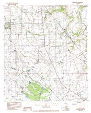 Youngsville topo map