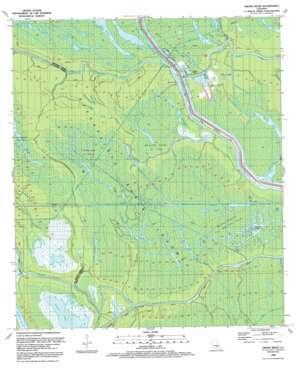 Grand River topo map