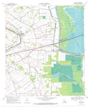 Cecilia topo map