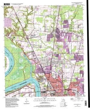 Scotlandville topo map