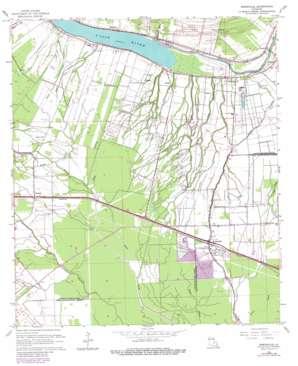 Erwinville topo map