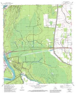 Lottie topo map