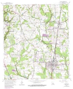 Zachary topo map